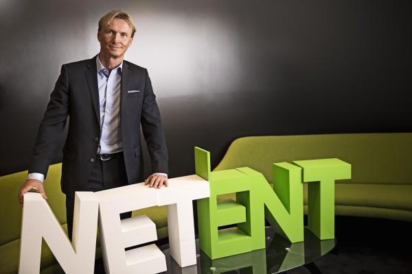 Per-Eriksson, CEO NetEnt