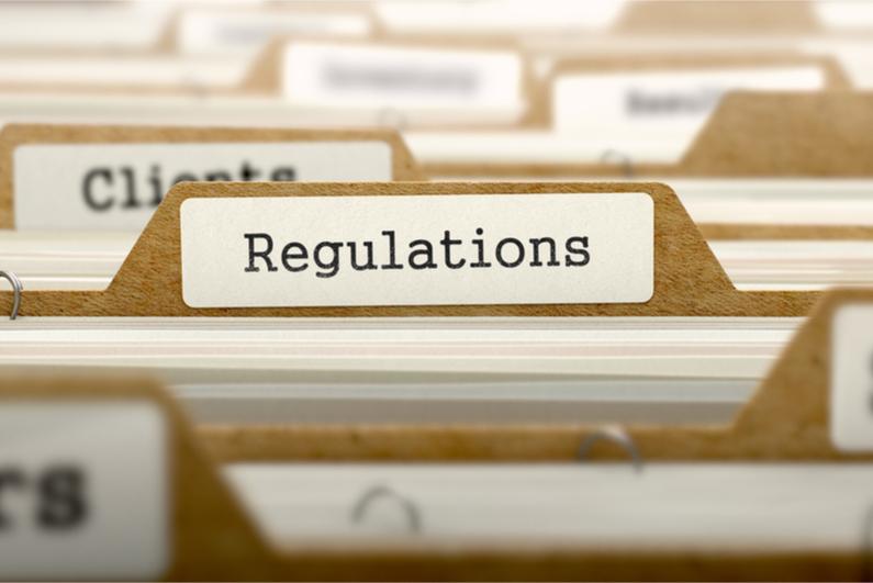 "Folder with ""regulations"""