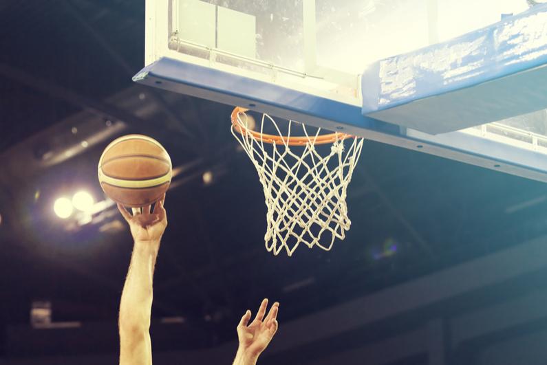 US basketball game