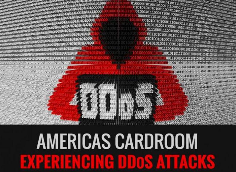 Americas Cardroom experiencing DDoS attack