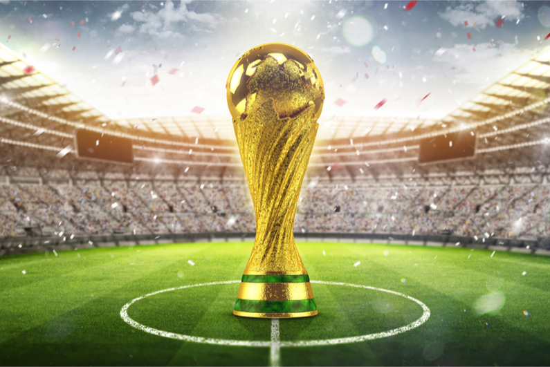 Bitcoin Betting Rises on The World Cup