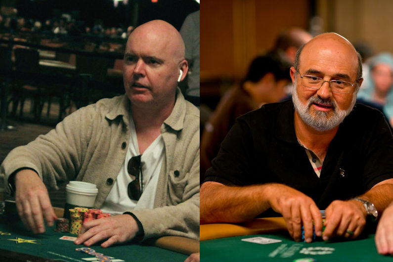 John Hennigan, left, and Mori Eskandani are the newest members of the Poker Hall of Fame