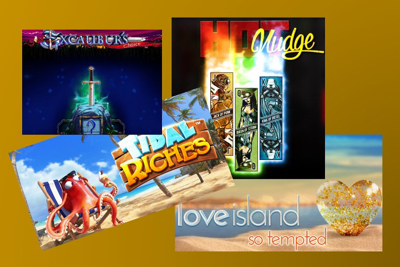 New Slots Round-Up | 19 July 2018
