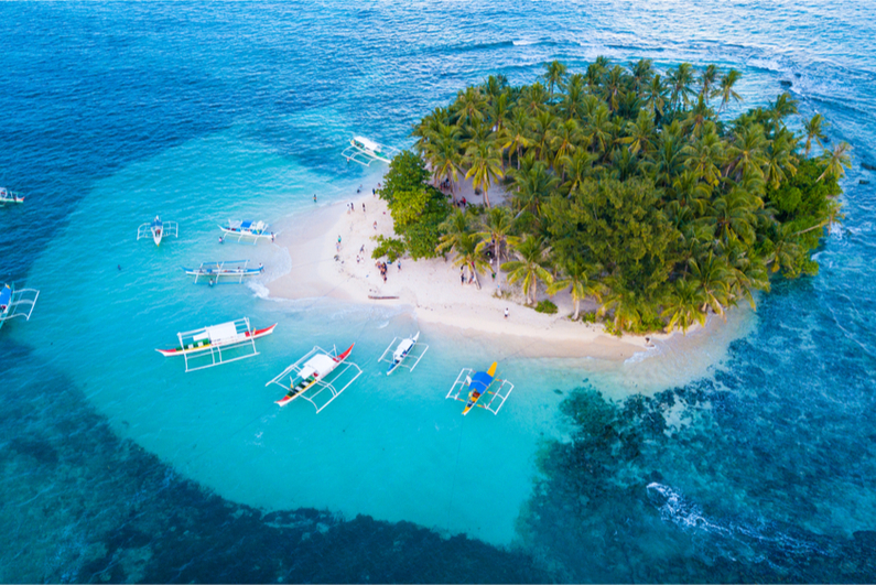 Guyam Island in the Phillipines