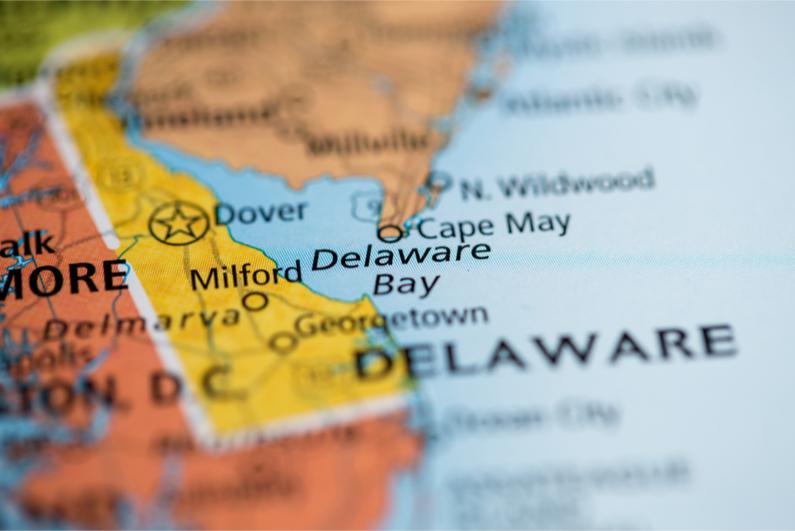 Delaware Bay. Delaware. USA