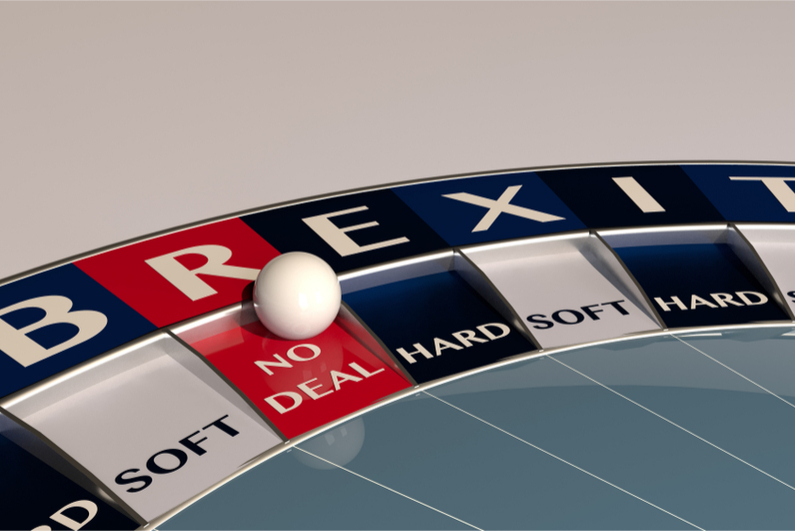 Roulette wheel says Brexit