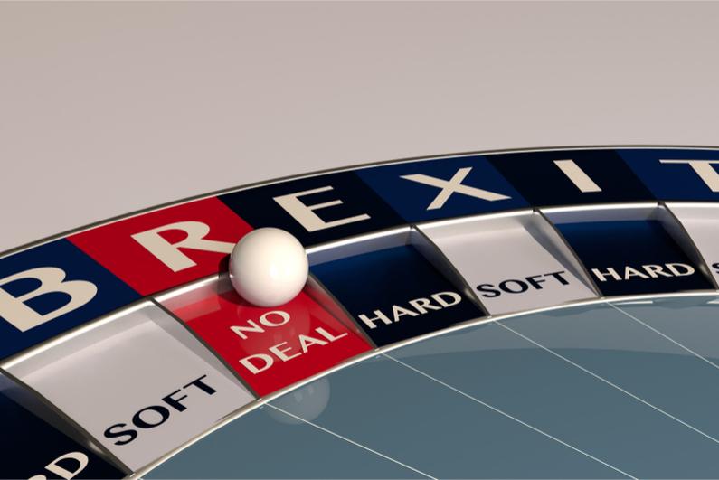Roulette wheel says Brexit