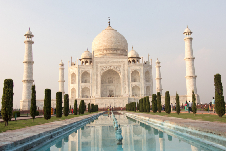Taj Mahal Palace in Agra, Uttar Pradesh, India