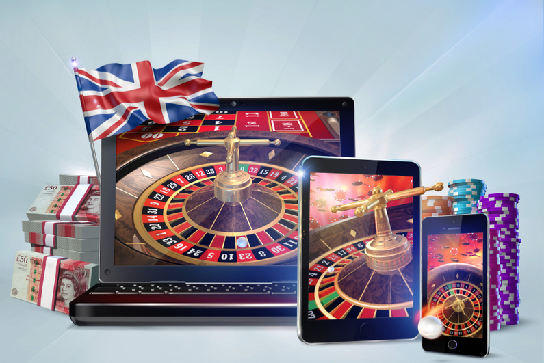 Roulette being played on laptops, tablets, and phones
