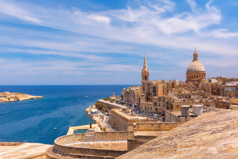 View of Valletta, Malta's capital city