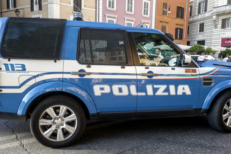 Italian police SUV