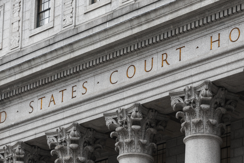 U.S. District Court face