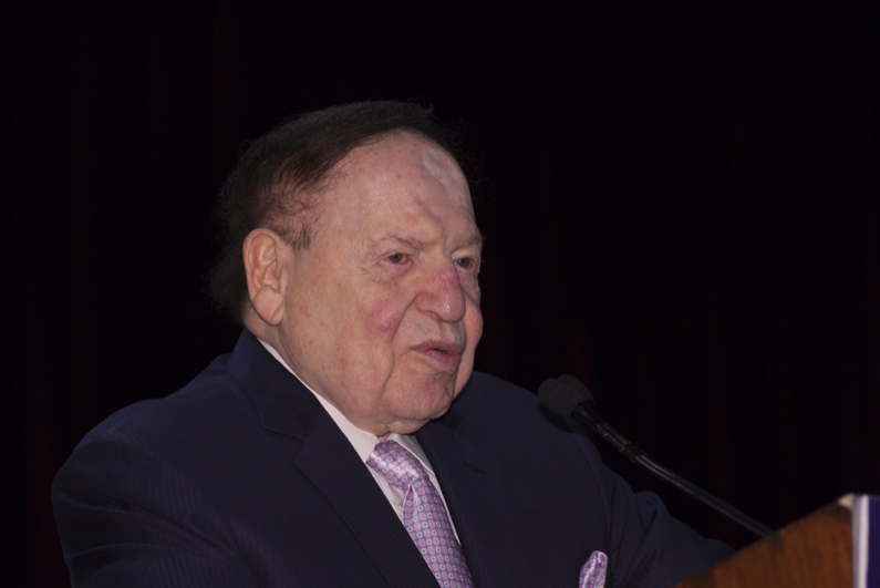 Sheldon Adelson in May of 2016.