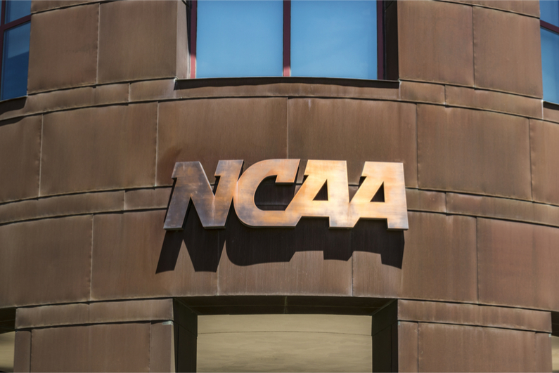 The NCAA is considering banning its athletes from placing sports bets of any kind on any events.