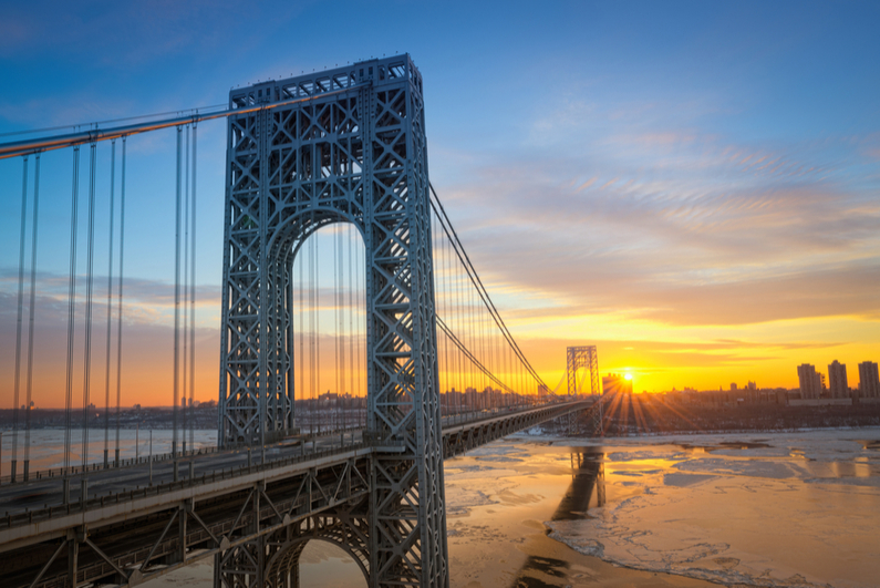George Washington Bridge from New Jersey