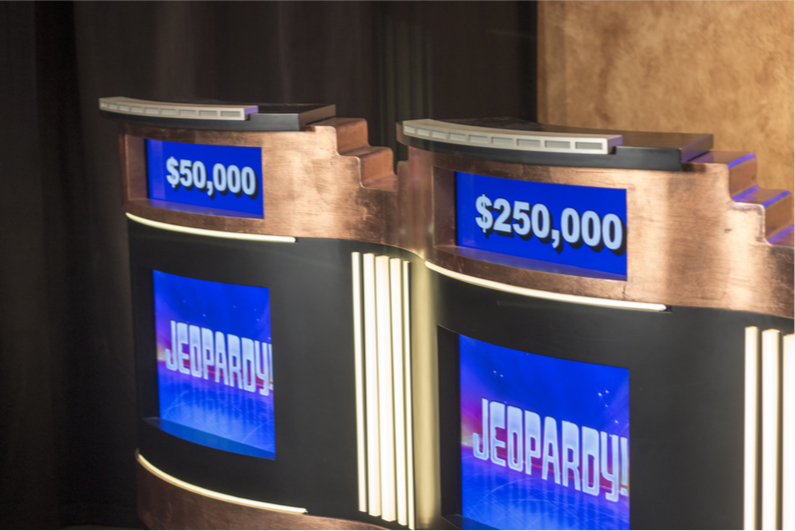 James Holzhauer said his professional gambling skills helped him win $2.3m on Jeopardy!