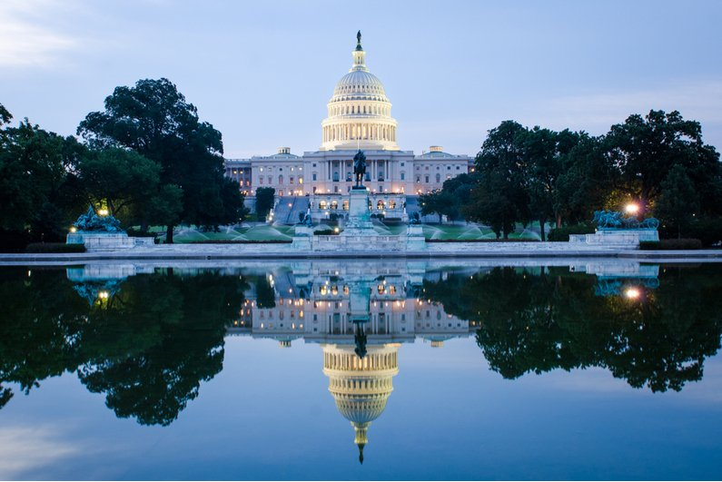 US Capitol Building in Washington, DC