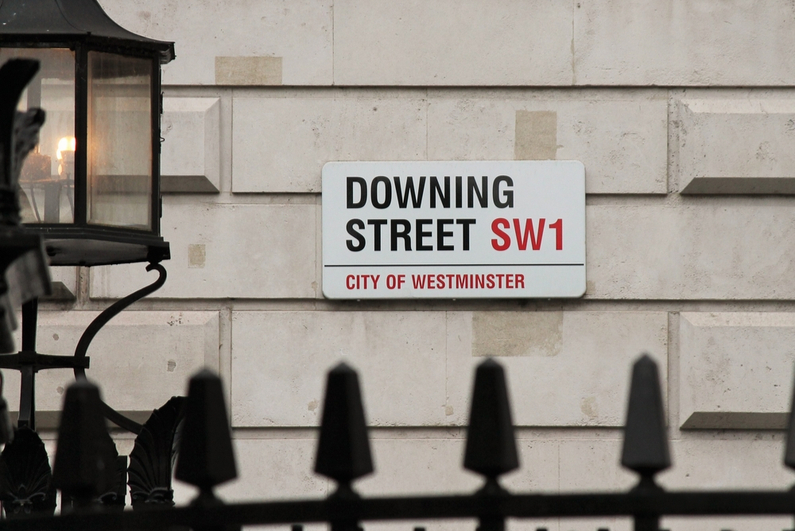 10 Downing Street is the home of the British prime minister