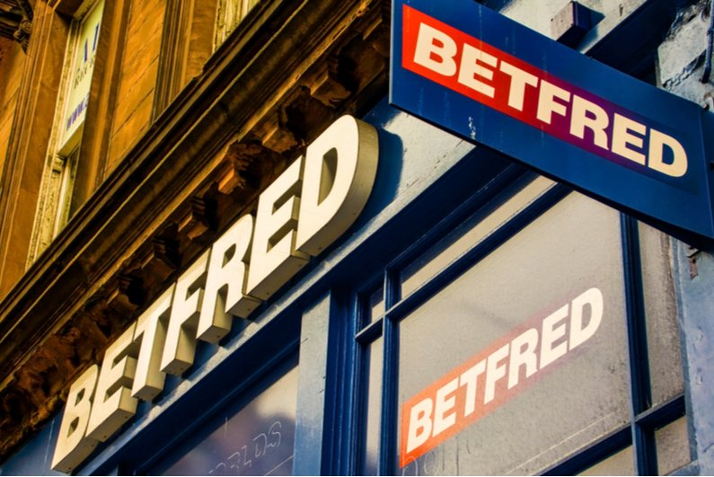 Betfred shop signs