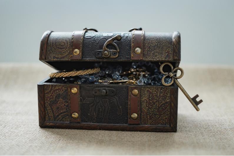 Vintage loot box