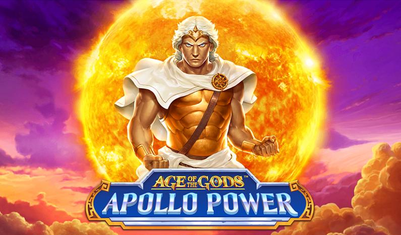 Age of the Gods: Apollo Power slot logo