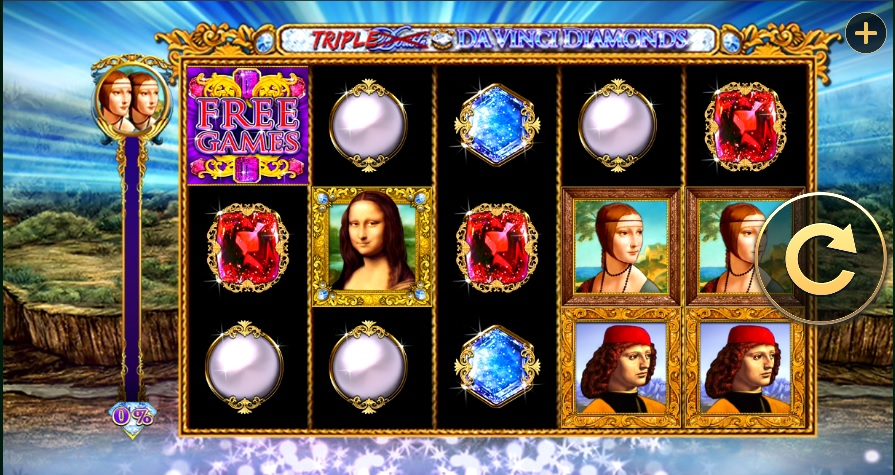 Spiele Triple Double DaVinci Diamonds - Video Slots Online