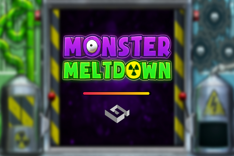Monster Meltdown slot logo
