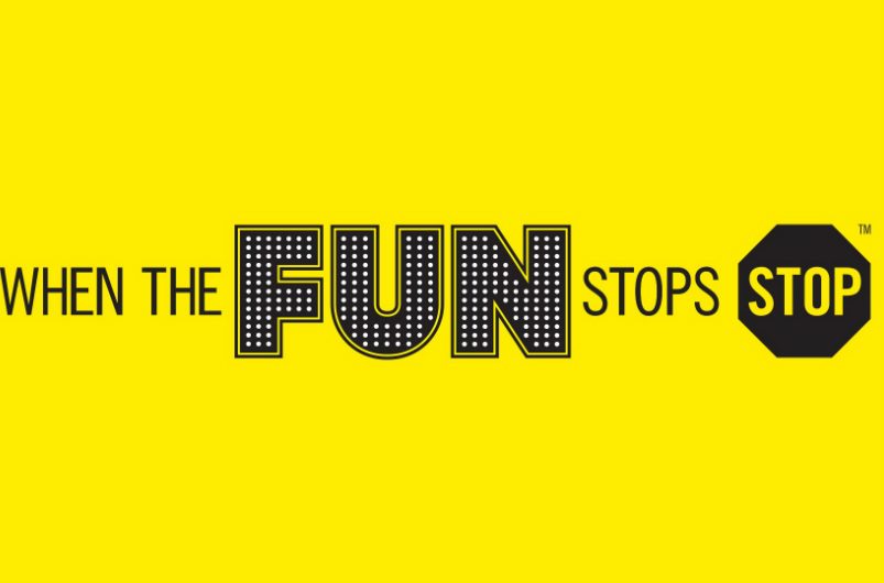 when the fun stops slogan
