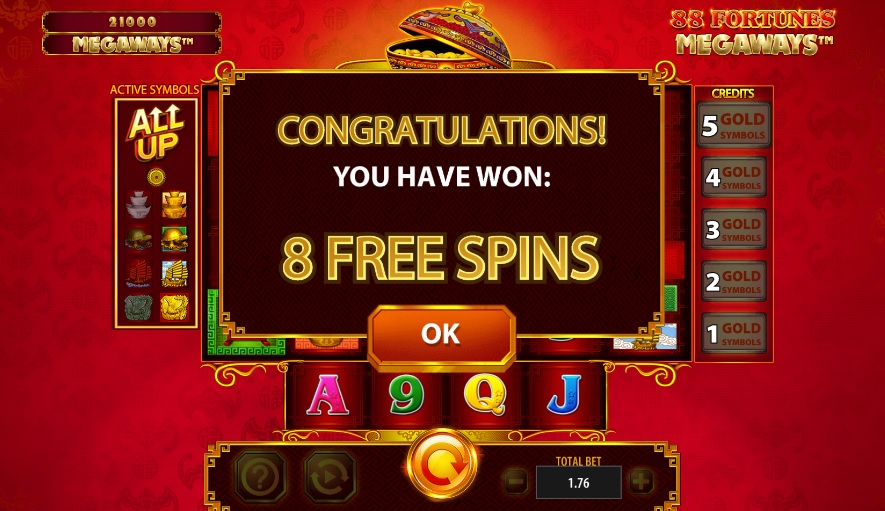 Spiele 88 Fortunes Megaways - Video Slots Online