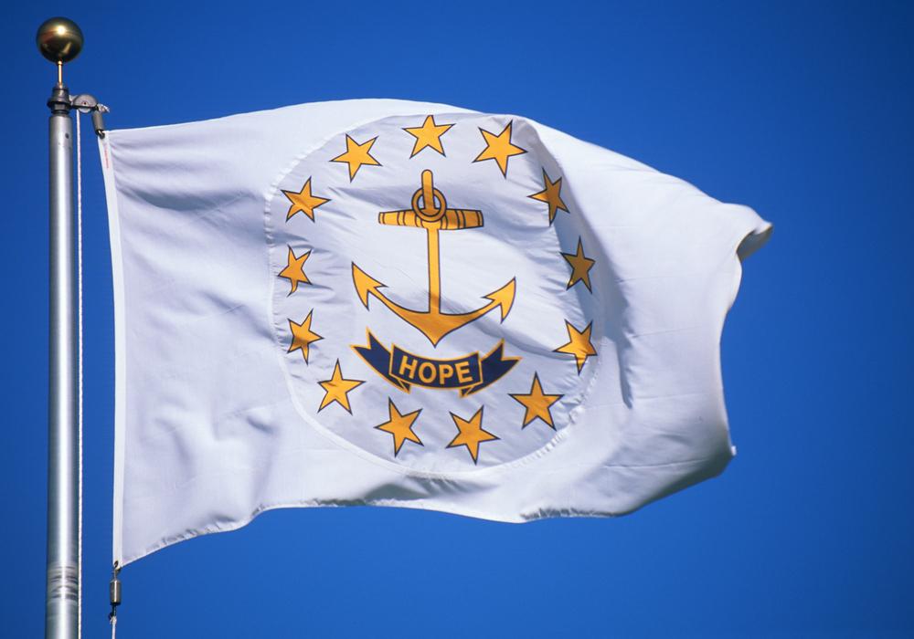 flag of Rhode Island state