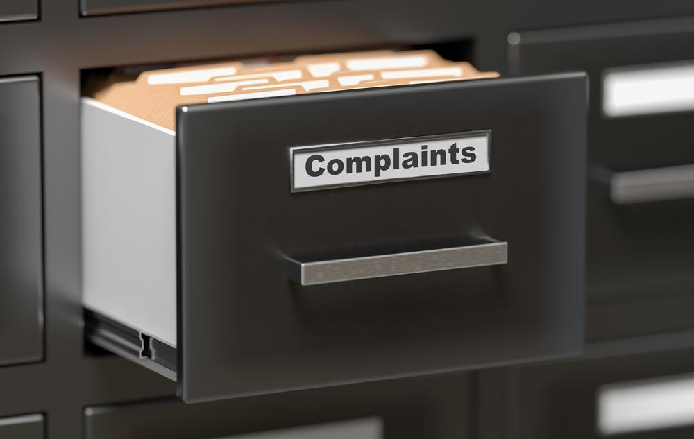 complaints filing drawer