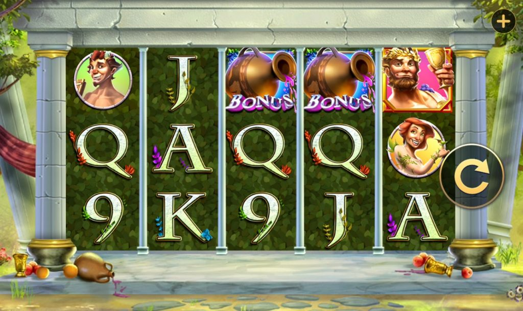 Roman Revelry slot reels by High 5 Games