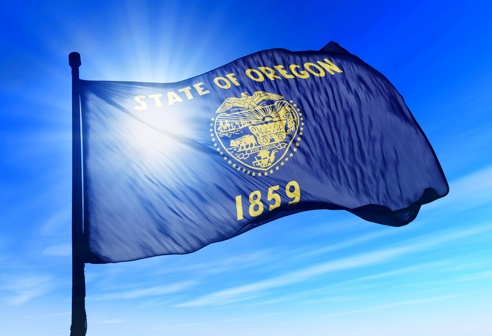 flag of Oregon state