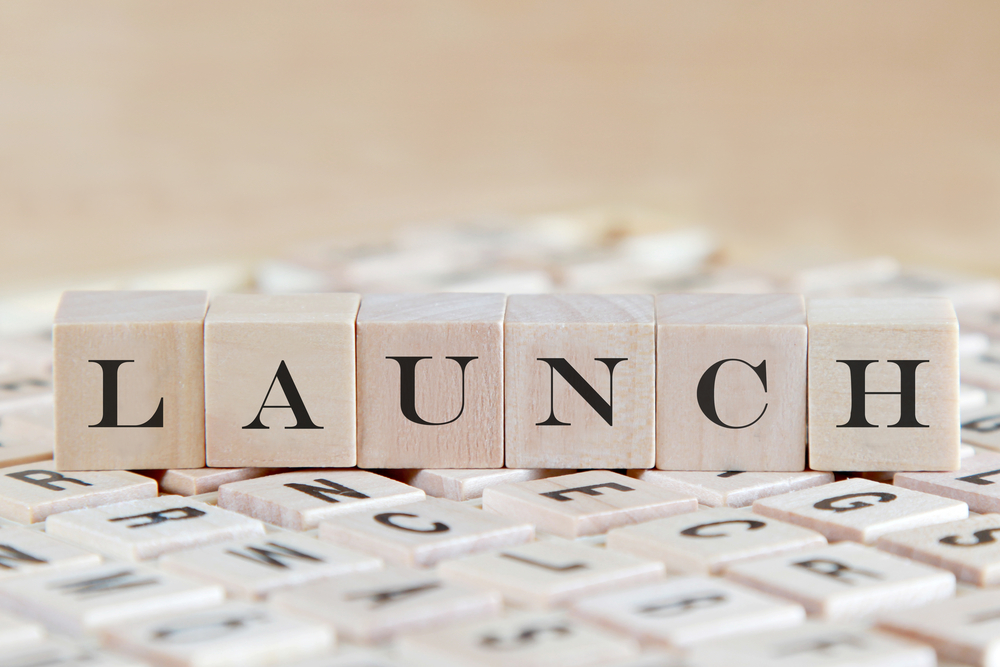 blocks spelling out the word launch