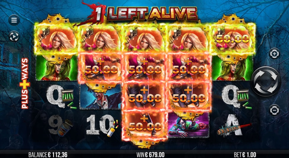1 Left Alive video slot by 4ThePlayer
