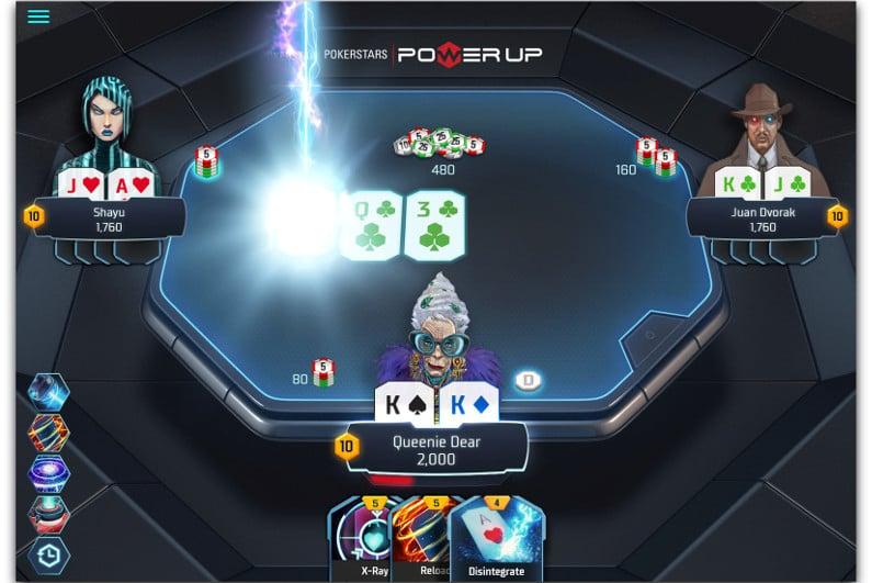 PokerStars Power Up screenshot