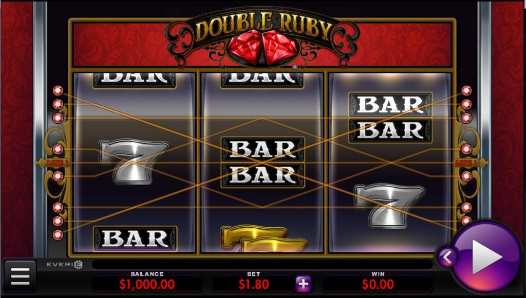 Double Ruby slot by Everi