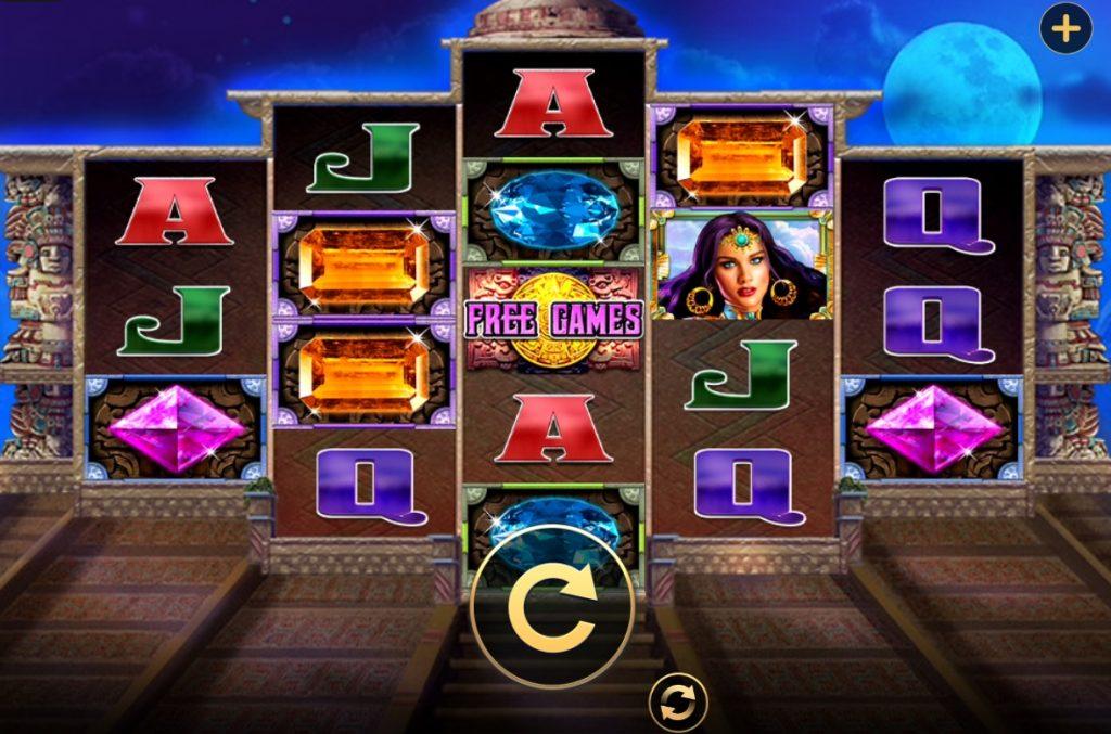 Mayan Goddess slot reels by High 5 Games