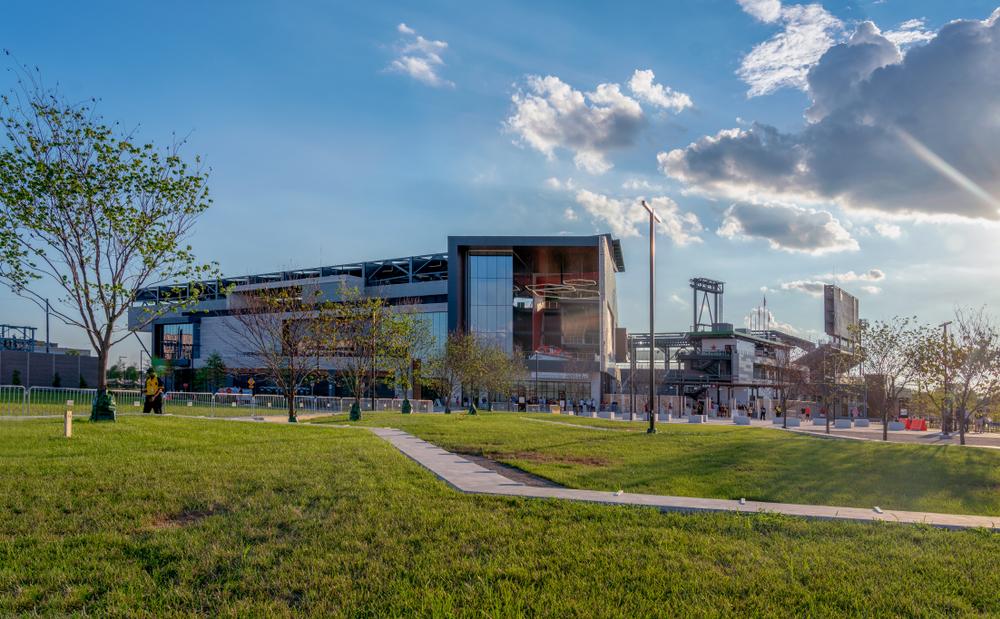 Washington D.C.'s Audi Field stadium exterior