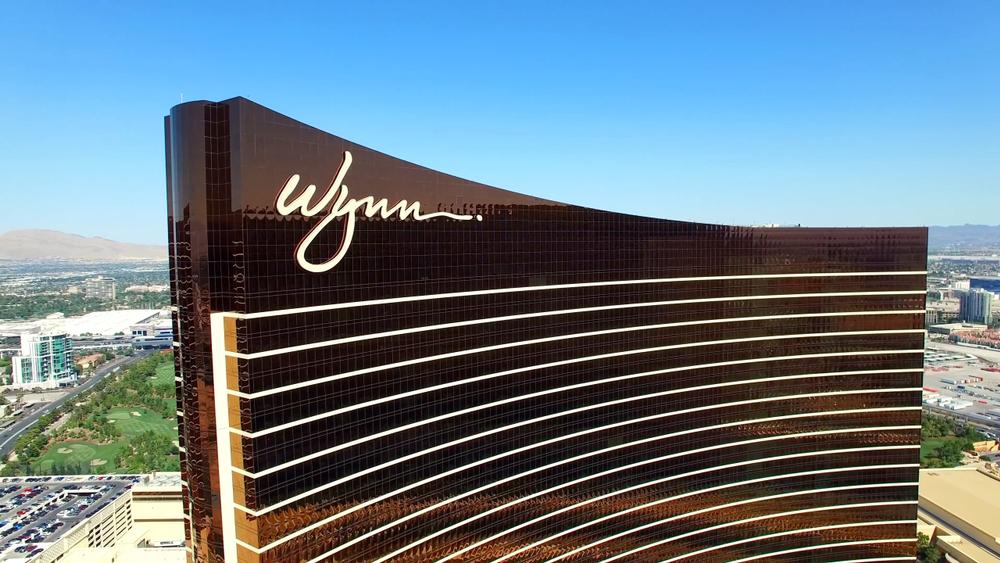 Wynn Resort aerial view