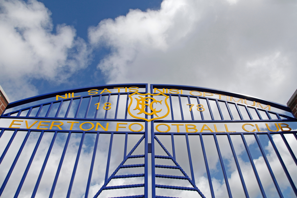 Everton Football Club gate