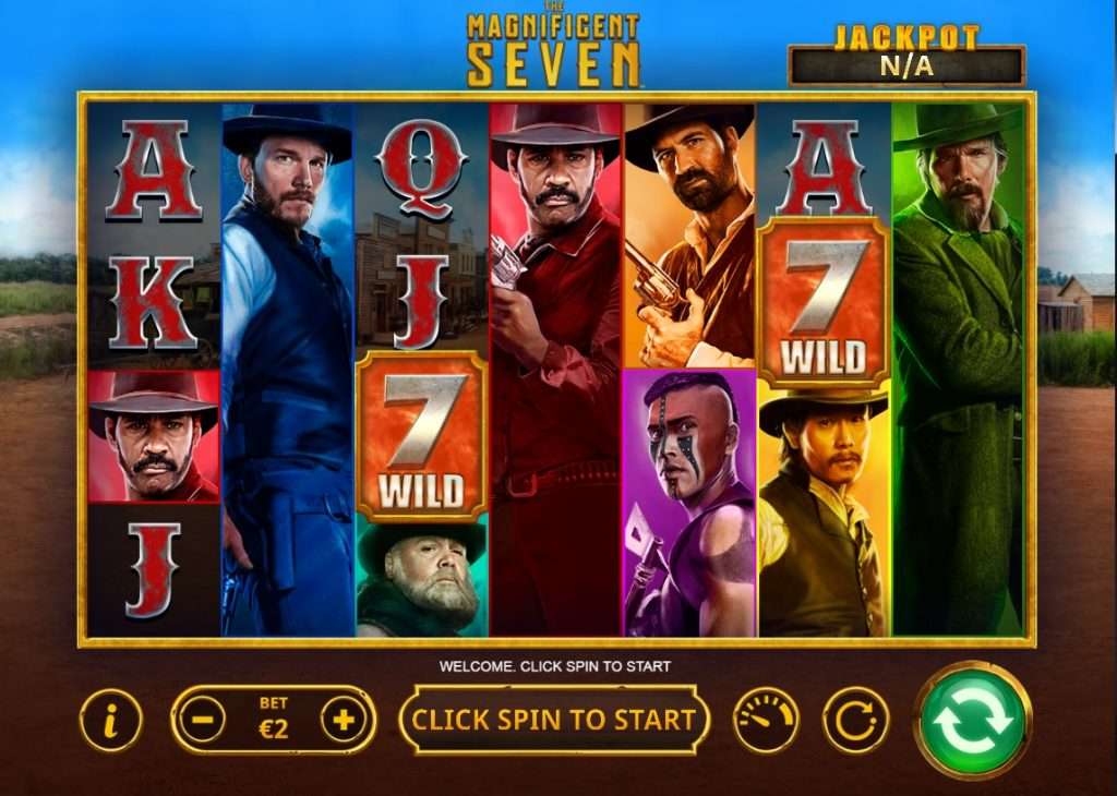 The Magnificent Seven slot by Skywind