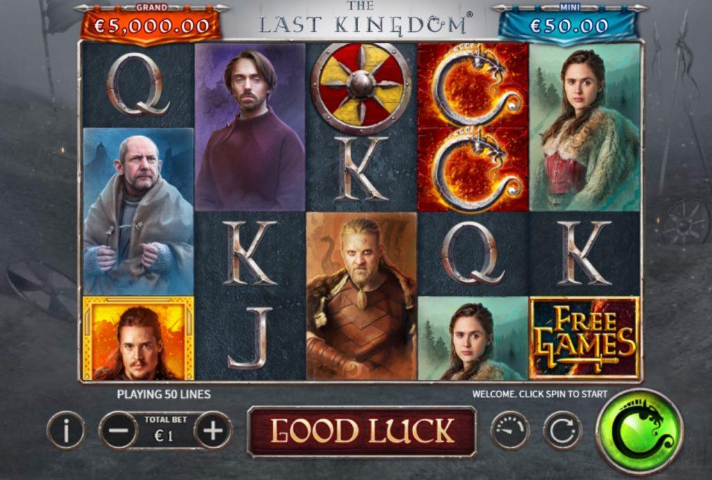 The Last Kingdom slot by Skywind