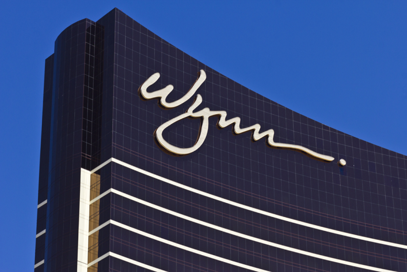 The Wynn Las Vegas on the Strip