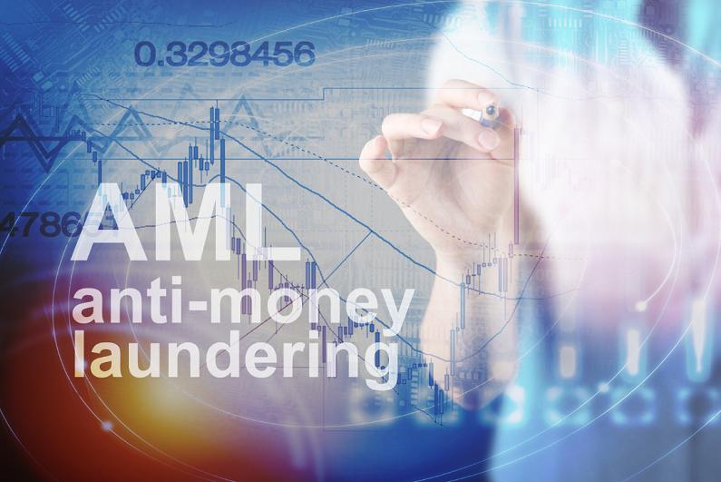 anti-money laundering concept