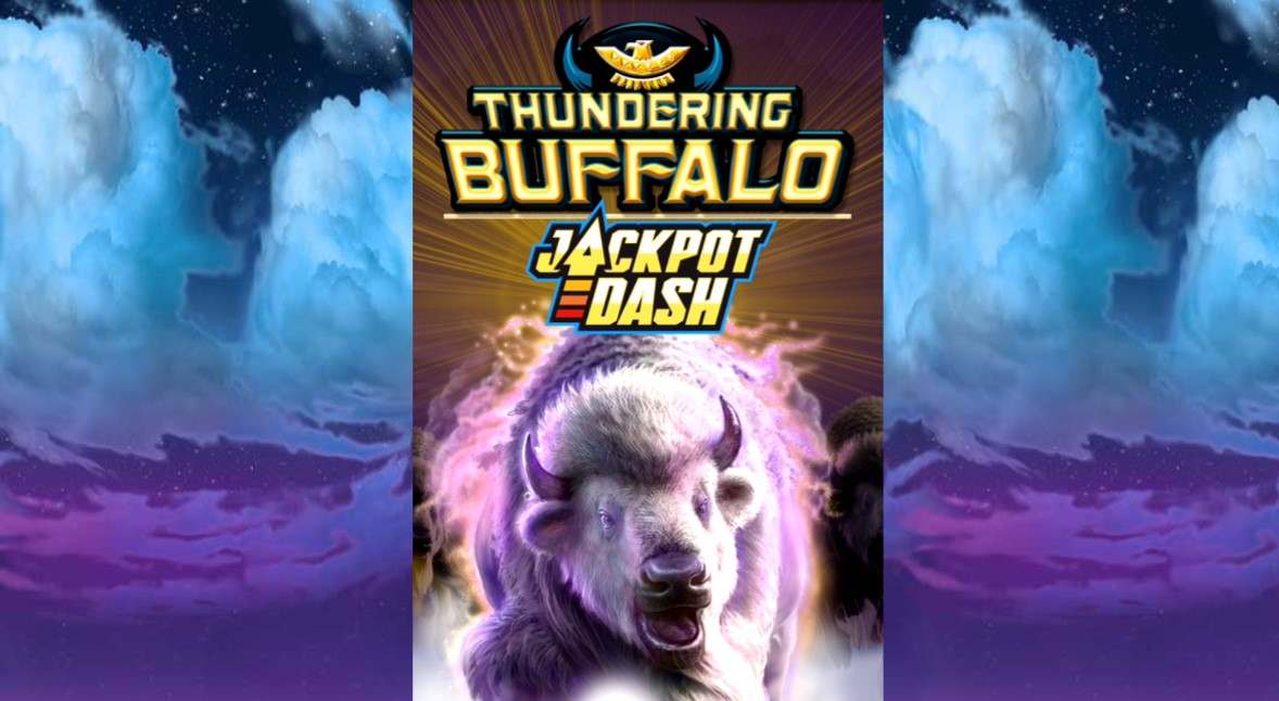Thundering Buffalo Jackpot Dash slot by High 5 Games