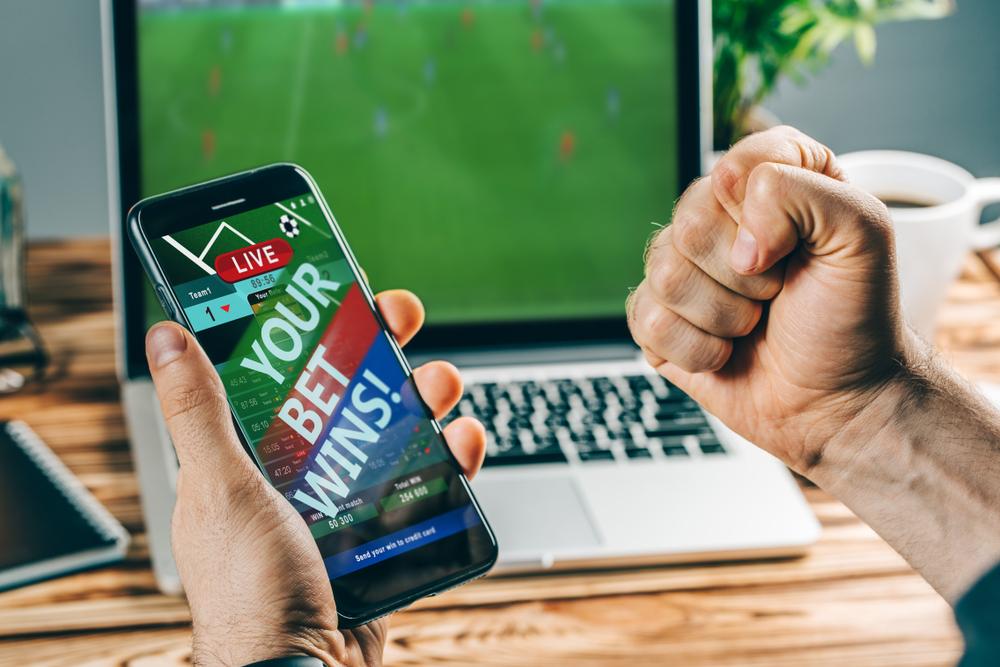 man wins mobile sports bet