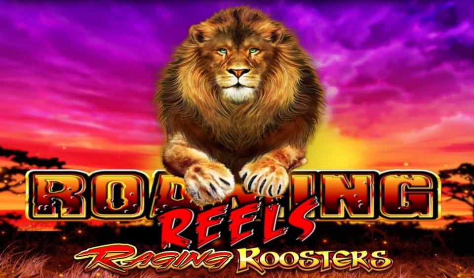 Roaming Reels Raging Roosters slot logo