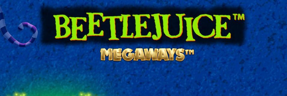 Barcrest's Beetlejuice Megaways slot logo