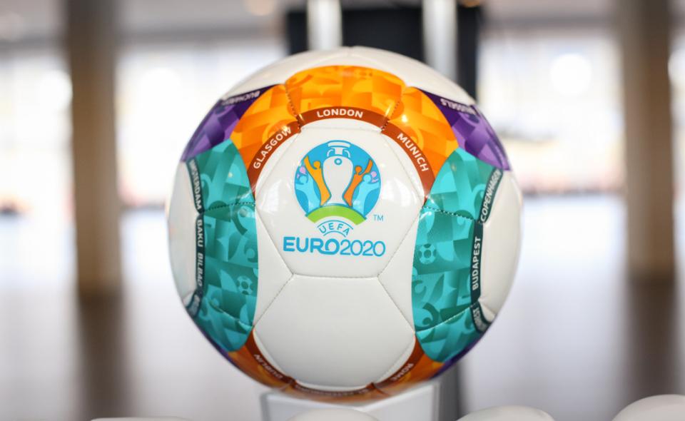 UEFA Euro 2020 soccer ball